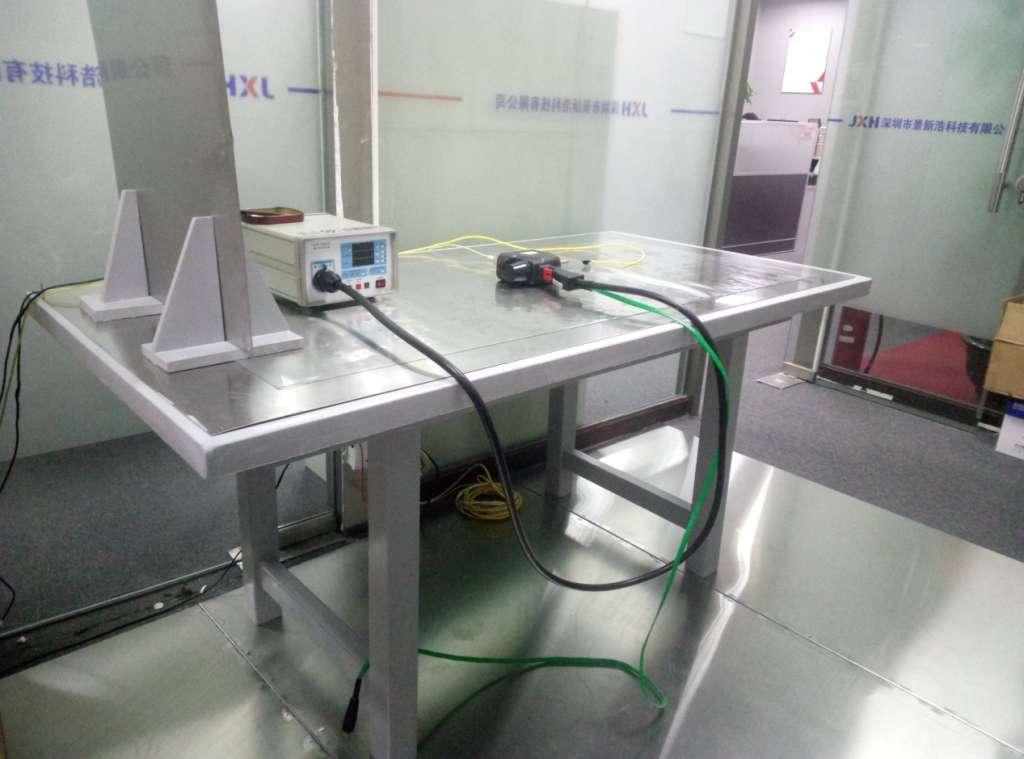 ESD静电发生器以及静电放电试验台投入使用