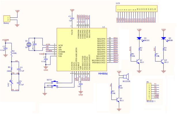 红外测温方案HME056介绍